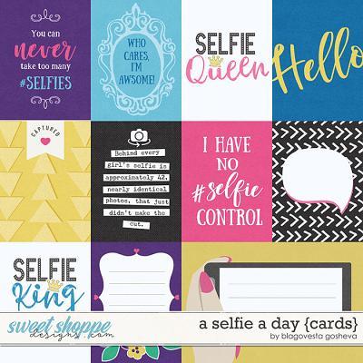 A Selfie a Day {cards} by Blagovesta Gosheva