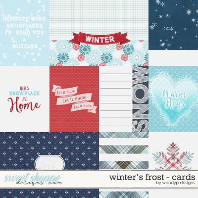 Winter's Frost - Cards by WendyP Designs