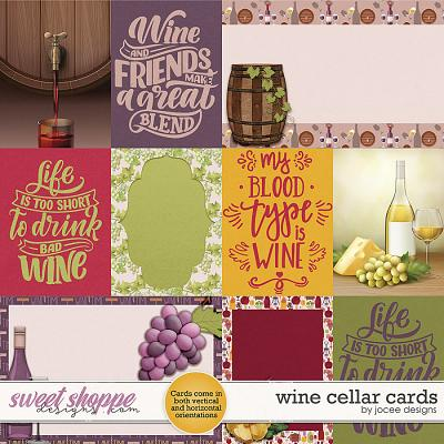 Wine Cellar Cards by JoCee Designs