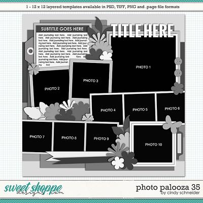 Cindy's Layered Templates - Photo Palooza 35 by Cindy Schneider