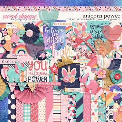 Unicorn Power by Becca Bonneville & Shawna Clingerman