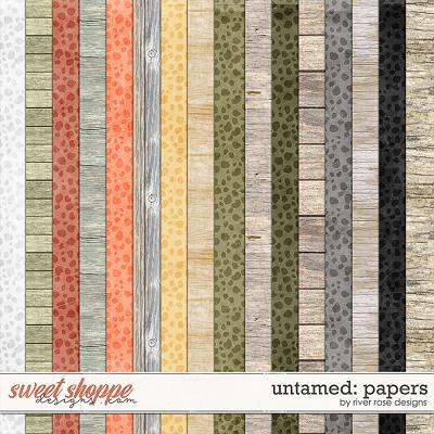 Untamed: Papers by River Rose Designs
