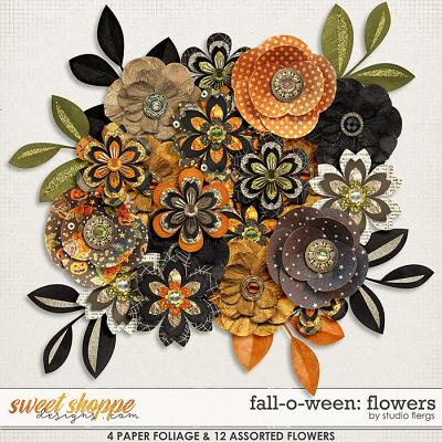 Fall-o-ween: FLOWERS by Studio Flergs