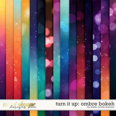 Turn it Up: Ombre Bokeh by Kristin Cronin-Barrow