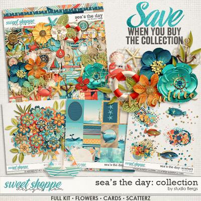 Sea's the Day: COLLECTION & *FWP* by Studio Flergs