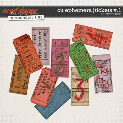 CU EPHEMERA | TICKETS V.1 by The Nifty Pixel