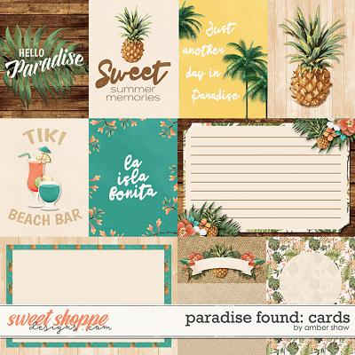 Paradise Found: Cards by Amber Shaw