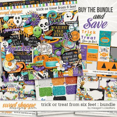 Trick or Treat From Six Feet: Collection Bundle by Meagan's Creations