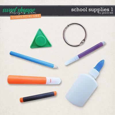 School Supplies 1 by Grace Lee