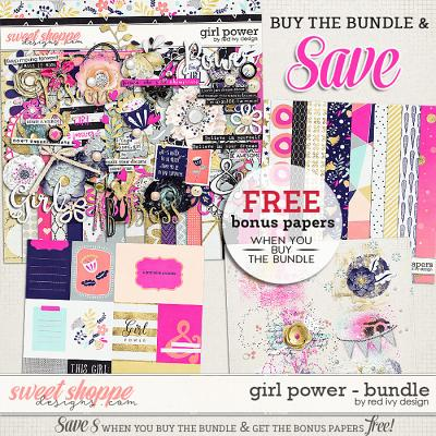 Girl Power - Bundle by Red Ivy Design