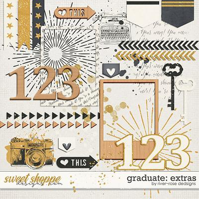 Graduate: Extras by River Rose Designs
