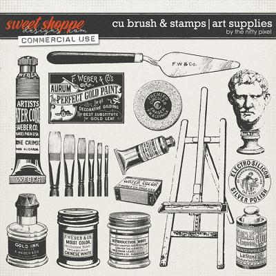 CU BRUSH & STAMP | ART SUPPLIES