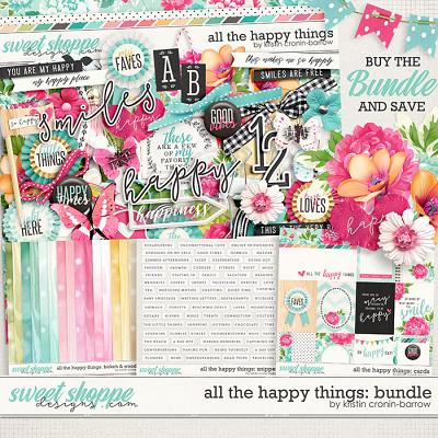 All the Happy Things: Bundle by Kristin Cronin-Barrow