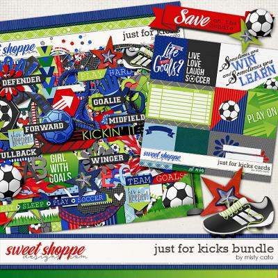Just for Kicks Kit and Cards Bundle by Misty Cato