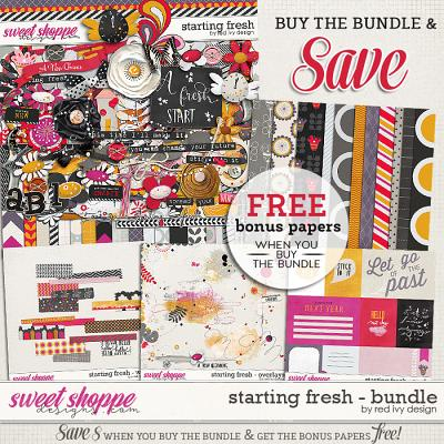 Starting Fresh - Bundle by Red Ivy Design