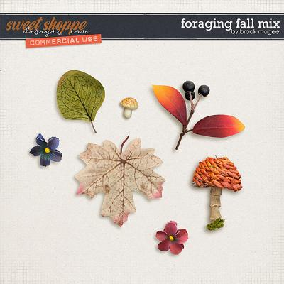 Foraging Fall Mix - CU - by Brook Magee
