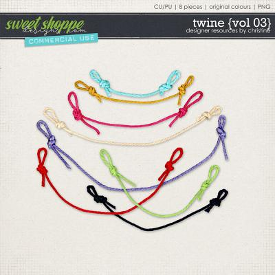 Twine {Vol 03} by Christine Mortimer