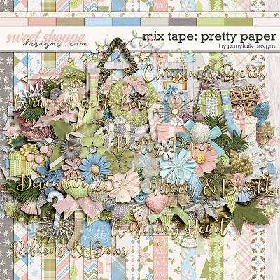 *FREE with your $10 Purchase* Pretty Paper by Ponytails
