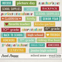 School Zone - Word Bits by Melissa Bennett