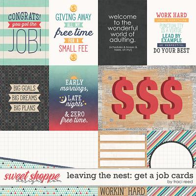 Leaving The Nest: Get A Job Cards by Traci Reed