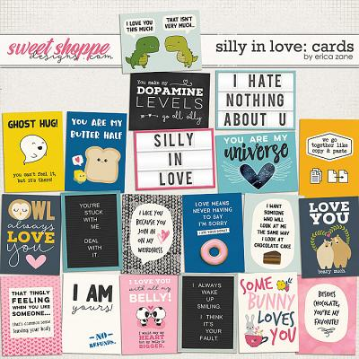 Silly in Love: Cards by Erica Zane