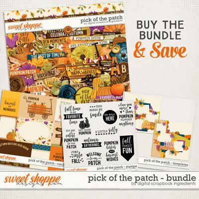 Pick Of The Patch Bundle by Digital Scrapbook Ingredients