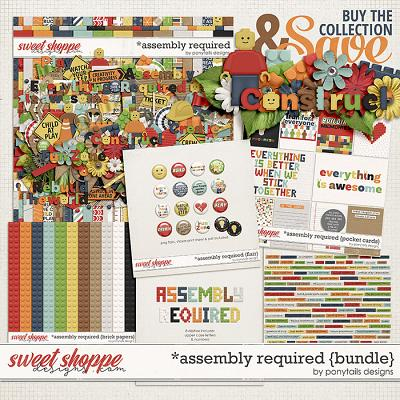 Assembly Required Bundle by Ponytails
