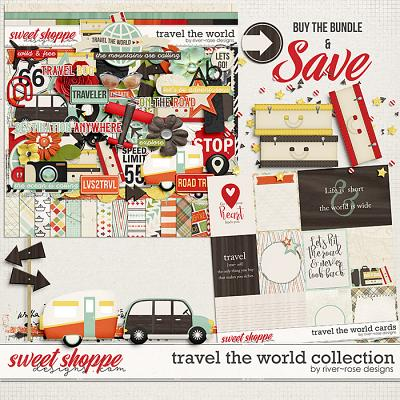 Travel the World Collection by River Rose Designs