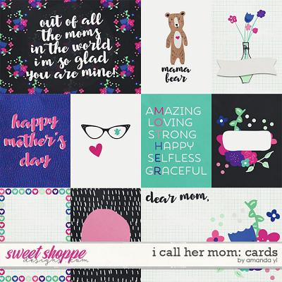 I Call Her Mom: Cards by Amanda Yi
