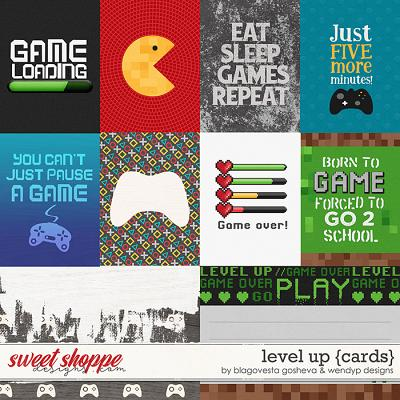 Level up - cards by Blagovesta Gosheva & WendyP Designs