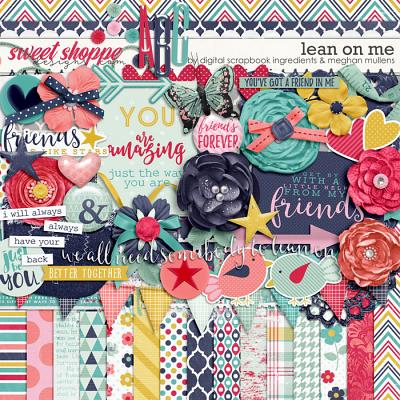 Lean On Me by Meghan Mullens & Digital Scrapbook Ingredients