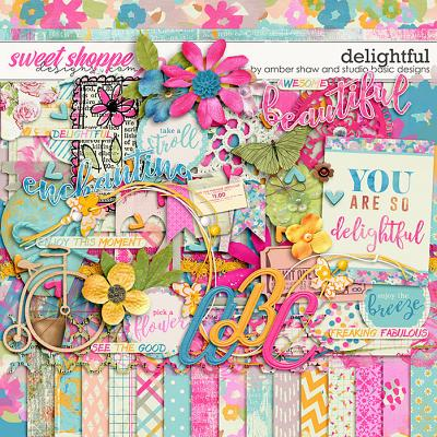 Delightful Kit by Amber Shaw and Studio Basic