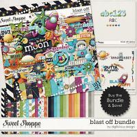 Blast Off Bundle by Digilicious Design