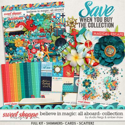 Believe in Magic: ALL ABOARD COLLECTION- by Studio Flergs & Amber Shaw