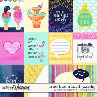Free like a bird - Cards by Blagovesta Gosheva & WendyP Designs