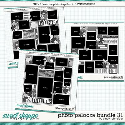 Cindy's Layered Templates - Photo Palooza Bundle 31 by Cindy Schneider