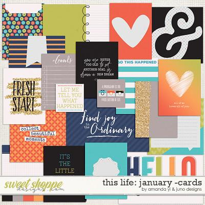 This Life: January - Cards by Amanda Yi & Juno Designs