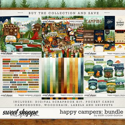 Happy Campers: Bundle by Kristin Cronin-Barrow