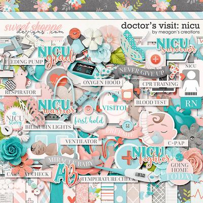 Doctor's Visit: NICU by Meagan's Creations