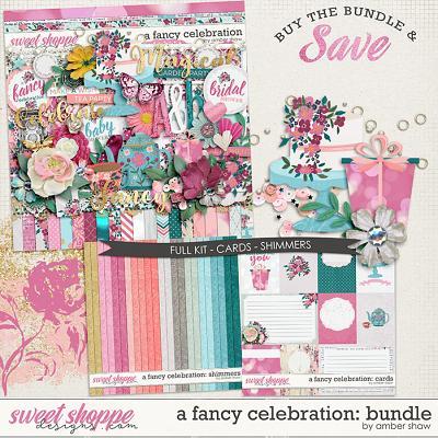 A Fancy Celebration:  Bundle by Amber Shaw