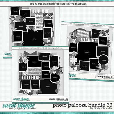 Cindy's Layered Templates - Photo Palooza Bundle 39 by Cindy Schneider