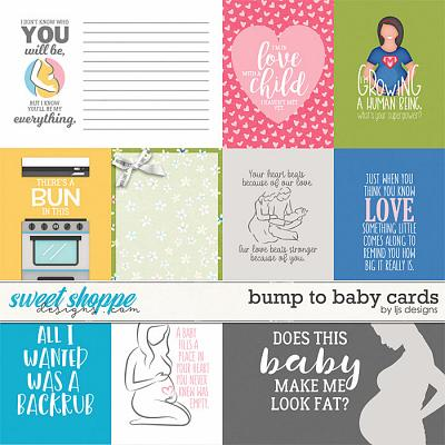 Bump To Baby Cards by LJS Designs