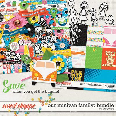 Our Minivan Family: Bundle by Grace Lee