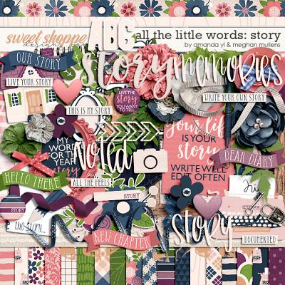 All The Little Words-Story Kit by Amanda Yi and Meghan Mullens