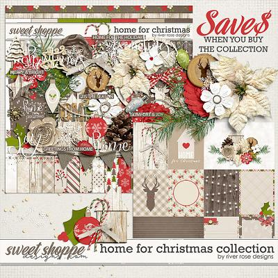 Home for Christmas: Collection by River Rose Designs