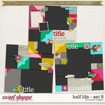 Brook's Templates - Half Life - Set 8 by Brook Magee