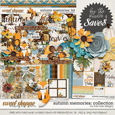 Autumn Memories: Collection + FWP by River Rose Designs