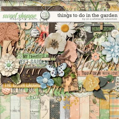 Things To Do In The Garden Kit by On A Whimsical Adventure
