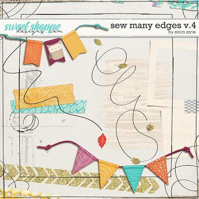 Sew Many Edges v.4 by Erica Zane