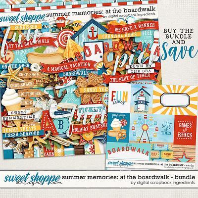 Summer Memories: At The Boardwalk Bundle by Digital Scrapbook Ingredients